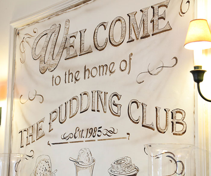 bridge hotel pudding club event